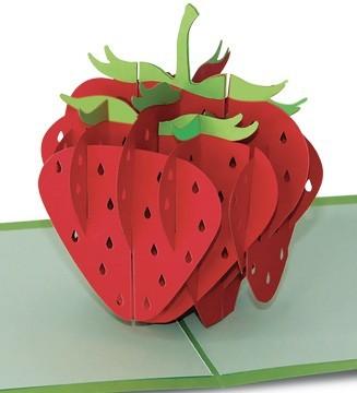 kirigami  fraise