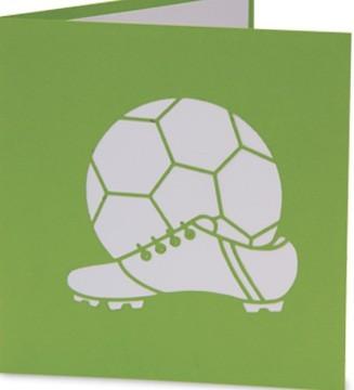 kirigami couverture chaussures de foot