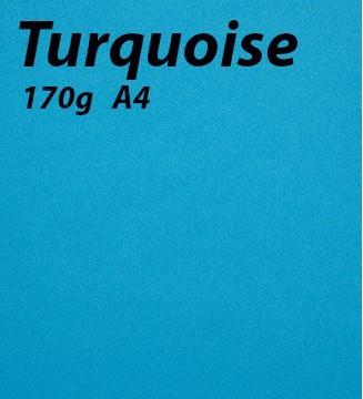 papier Turquoise A4 170g