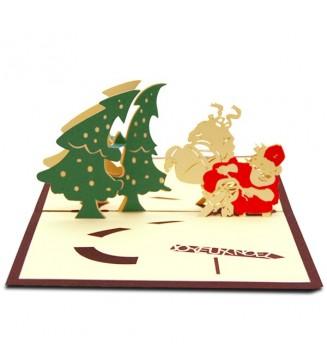 Moto du Père Noël